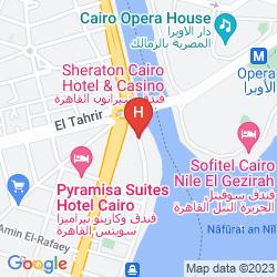 Karte SHERATON CAIRO HOTEL & CASINO