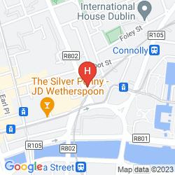 Karte BACKPACKERS CITI HOSTEL
