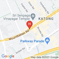 Karte VILLAGE HOTEL KATONG