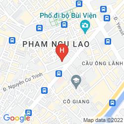 Karte PULLMAN SAIGON CENTRE