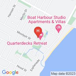 Karte BEST WESTERN QUATERDECKS HARBOUR RETREAT