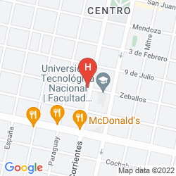 Karte 1412 HOTEL BOUTIQUE DE LUJO
