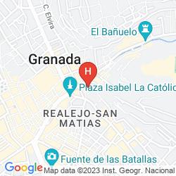 Karte MONJAS DEL CARMEN