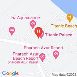 Karte TITANIC PALACE