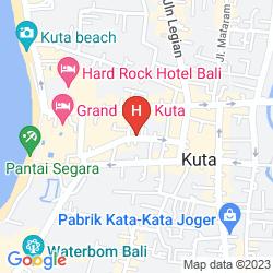 Karte ZIA BALI - SEMINYAK