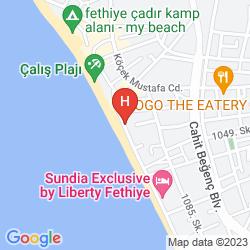 Karte LETOON HOTEL