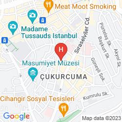 Karte SUITENESS TAKSIM HOTEL