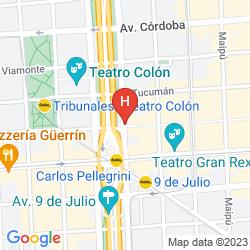 Karte EXE HOTEL COLON