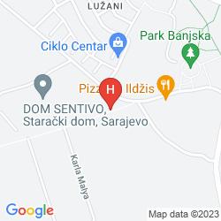 Karte ALEJA HOTEL