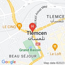 Karte HOTEL RESIDENCE POMARIA