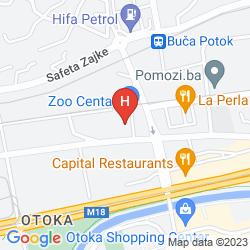 Karte ADA HOTEL SARAJEVO