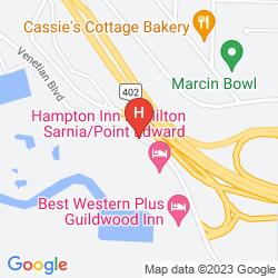 Karte HOLIDAY INN & CONFERENCE CENTRE