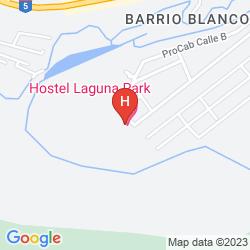 Karte HOSTEL LAGUNA PARK CABARETE