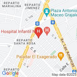 Karte LA GRAN PIEDRA