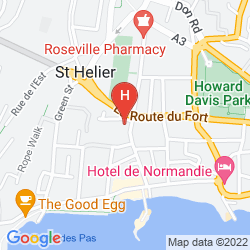 Karte RUNNYMEDE COURT HOTEL