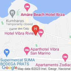Karte APARTAMENTOS PLAYASOL RIVIERA