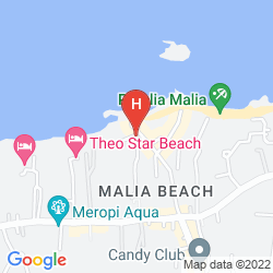 Karte DROSSIA PALMS HOTEL - STUDIOS