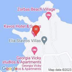 Karte NANAKIS BEACH APARTMENTS
