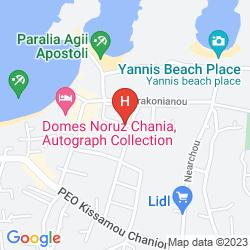 Karte NIRIIS HOTEL
