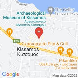 Karte MIRTILOS STUDIOS & APARTMENTS