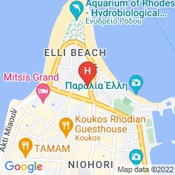Karte AQUAMARE HOTEL