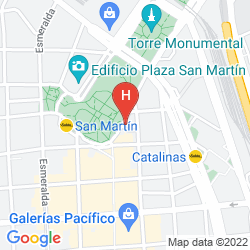 Karte PLAZA HOTEL BUENOS AIRES