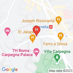 Karte CASA LA SALLE