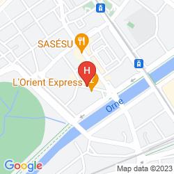 Karte HOTEL BRISTOL