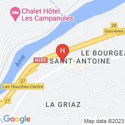 Karte RÉSIDENCE LES BALCONS D'ANAITE