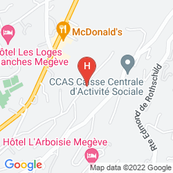 Karte LE CHALET ZANNIER