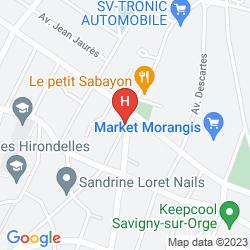 Karte COMFORT HOTEL ADELAIDE MORANGIS