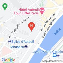 Karte STUDIO TOUR EIFFEL