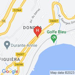 Karte HOTEL REGENCY