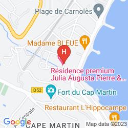 Karte PIERRE & VACANCES RESIDENCE PREMIUM JULIA AUGUSTA