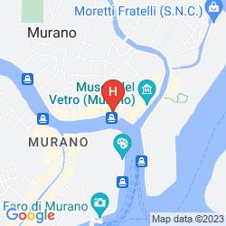Karte HYATT CENTRIC MURANO VENICE
