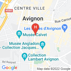 Karte POP' HOSTEL