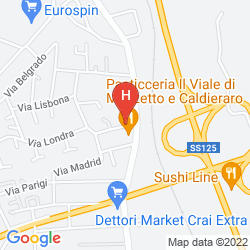 Karte HOTEL DEMAR