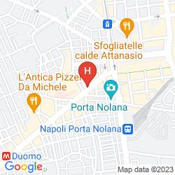 Karte NAPOLI SUITE