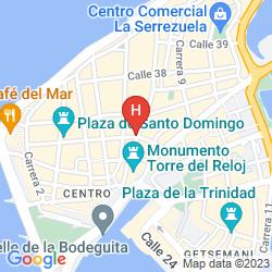 Karte CASA DEL COLISEO