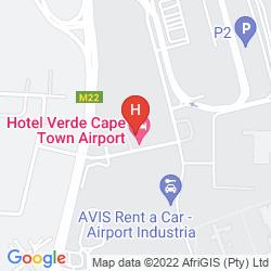 Karte HOTEL VERDE