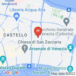 Karte YOUTH VENICE HOME