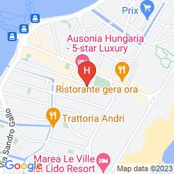 Karte VILLA PANNONIA