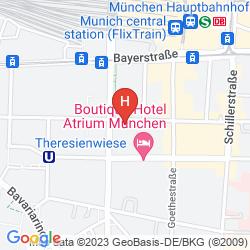 Karte ADAGIO MUNCHEN CITY