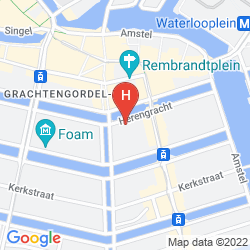 Karte WALDORF ASTORIA AMSTERDAM