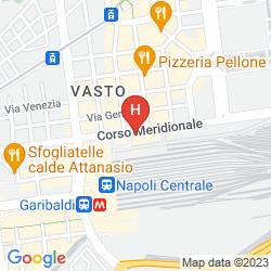 Karte STELLE HOTEL THE BUSINEST