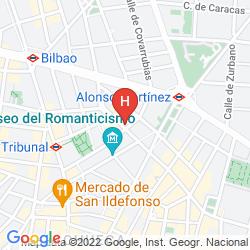 Karte URSO HOTEL AND SPA