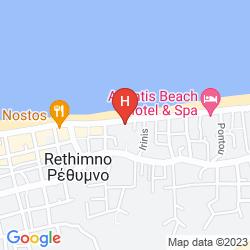 Karte ZANTINA HOTEL