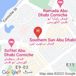 Karte SOUTHERN SUN ABU DHABI