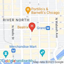 Karte ALOFT CHICAGO CITY CENTER