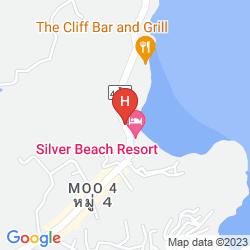 Karte CRYSTAL BAY BEACH RESORT